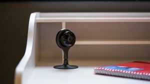 Nest Cam review: On desk