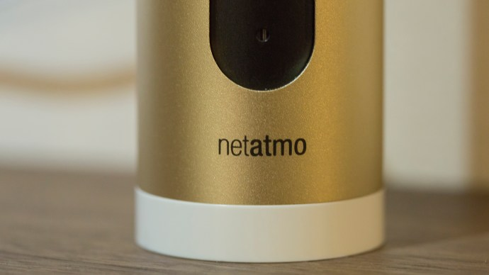Netatmo Welcome review: Netatmo logo