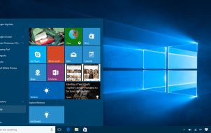 Microsoft Windows 10 How to change Wallpaper - Settings Start Menu