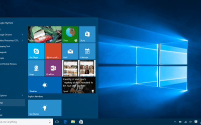 Microsoft Windows 10 How to change Wallpaper - Settings Start Menu