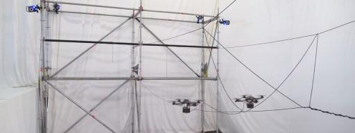 Drone bridge builders