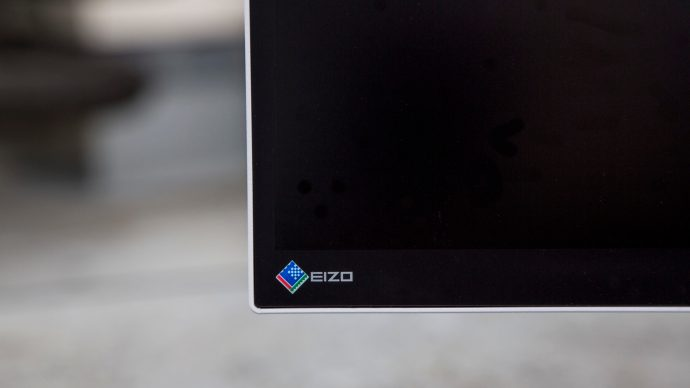 Eizo FlexScan EV2750 review: Front left corner