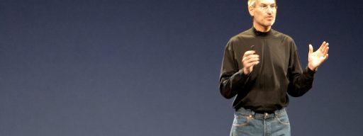 Steve Jobs on stage