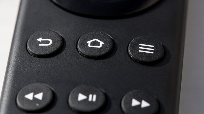 Amazon Fire TV review: Each of the remote's buttons has a positive, high-quality click