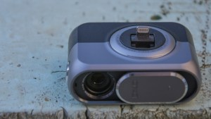 DxO One review: An integrated Lightning connector connects the camera with your iPhone