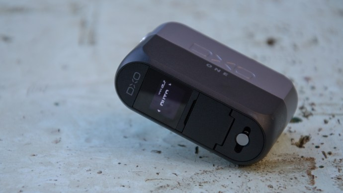 DxO One review: A touchscreen at the back and two-stage shutter button up top means you can use the camera standalone