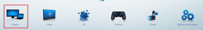 Intel Graphics Settings
