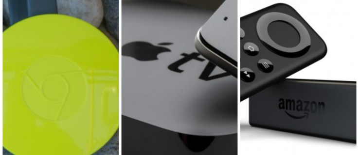 Google Chromecast vs Amazon Fire TV Stick vs Apple TV: which streamer is the best?