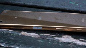 Sony Xperia Z5 Premium review: Fingerprint reader
