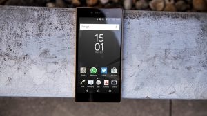 Sony Xperia Z5 Premium review: Front view