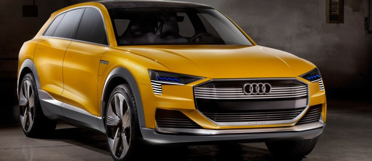 Audi h-tron quattro concept: Audi joins the hydrogen fuel cell party with a 600km-range SUV