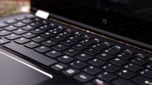 Lenovo Yoga 700 review: Keyboard