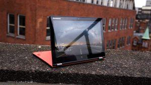Lenovo Yoga 700 review: Stand mode