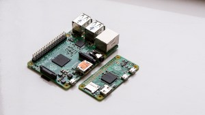 Raspberry Pi Zero compared with Raspberry Pi 2