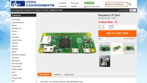 Raspberry Pi Zero is overpriced in many places