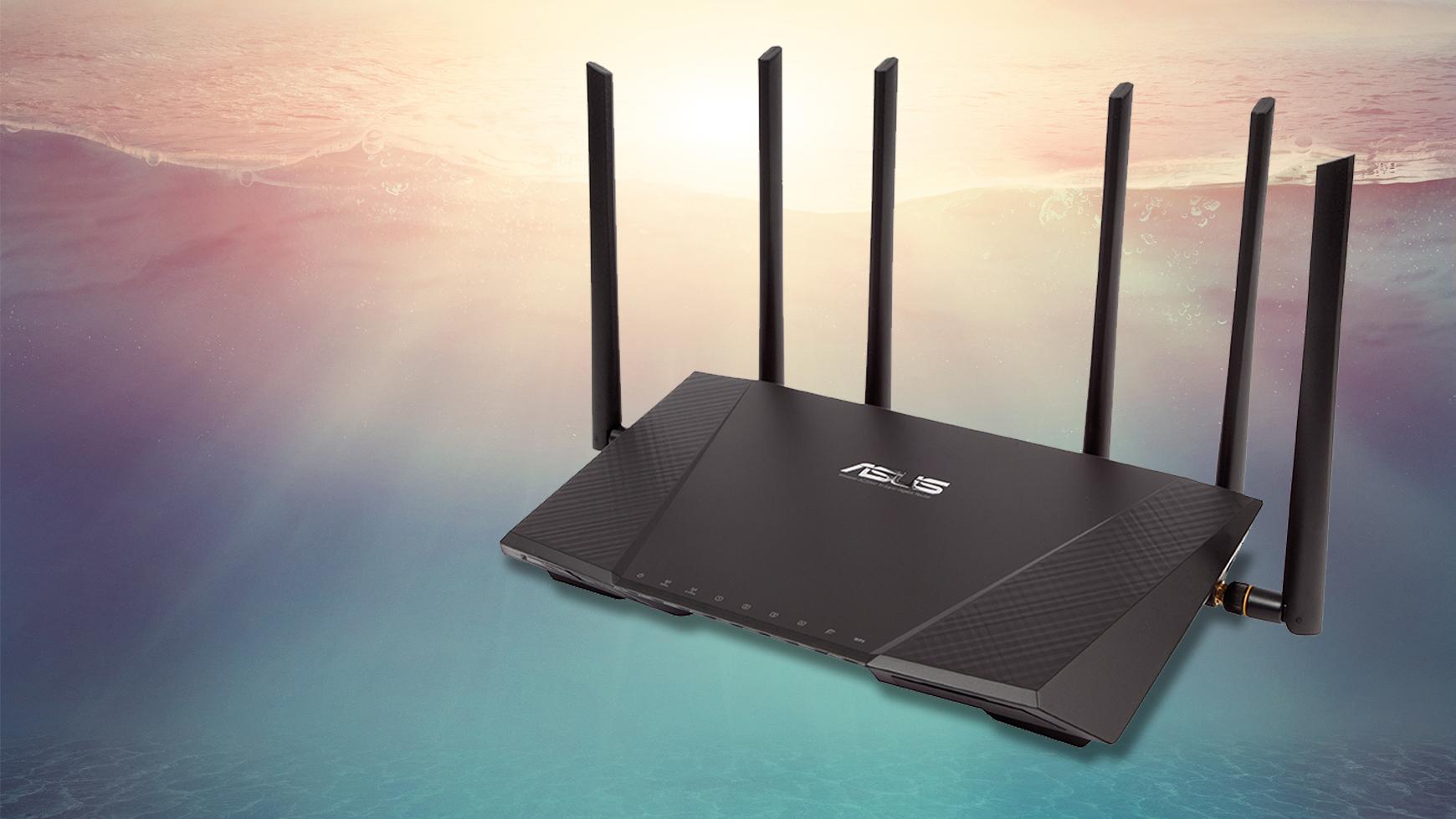 Asus RT AC3200 Gigabit Wifi router BT