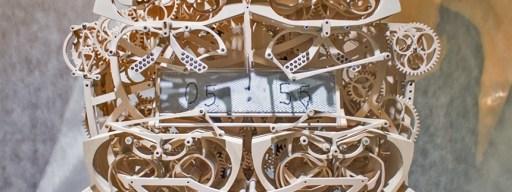 Plock writing clock Japan