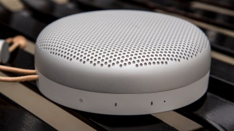 B&O Play Beoplay A1 tiny icons and concealed buttons