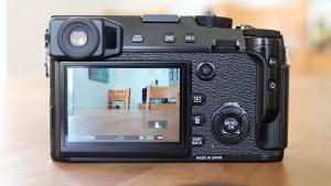 Fujifilm XPro-2 from rear