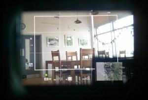 Fujifilm XPro-2 hybrid viewfinder