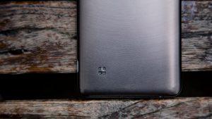 LG Stylus 2 rear bottom corner