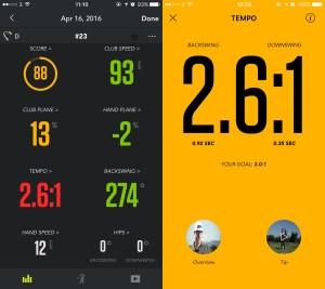 zepp-golf-app-tempo