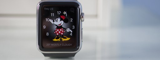 watchOS 3 lead image Minnie Mouse watch face