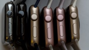 Apple Watch different colours