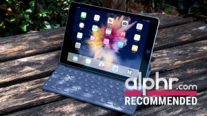 Apple iPad Pro 9.7 with keyboard and award