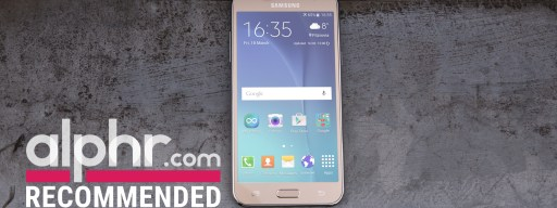 Samsung Galaxy J5 with award