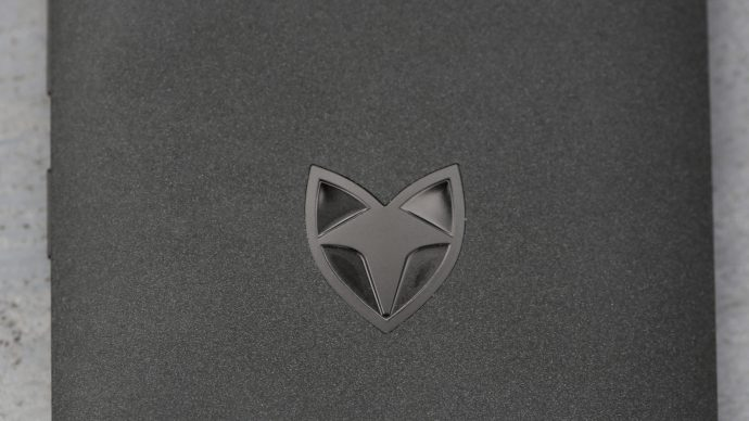 Wileyfox Swift review: The Wileyfox logo adds to the unique look of the phone