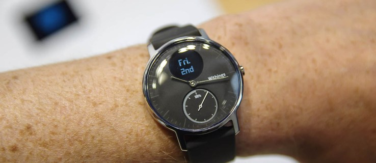 Withings Steel HR review (hands-on): The heart-rate watch with month-long battery life