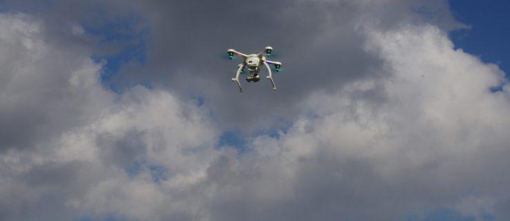 Ehang Ghostdrone 2.0 VR in flight