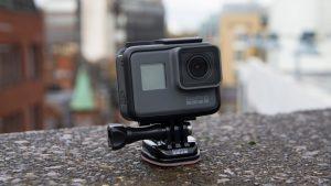 GoPro Hero 5 in mount