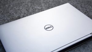 Dell XPS 13 2-in-1 lid