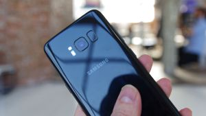 Samsung Galaxy S8 in black