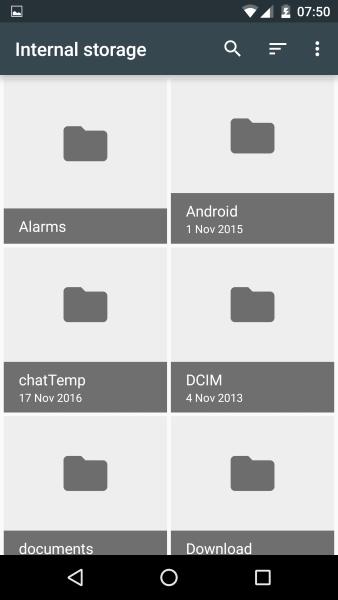 Cómo cargar, descargar y ver todos sus archivos de Android3