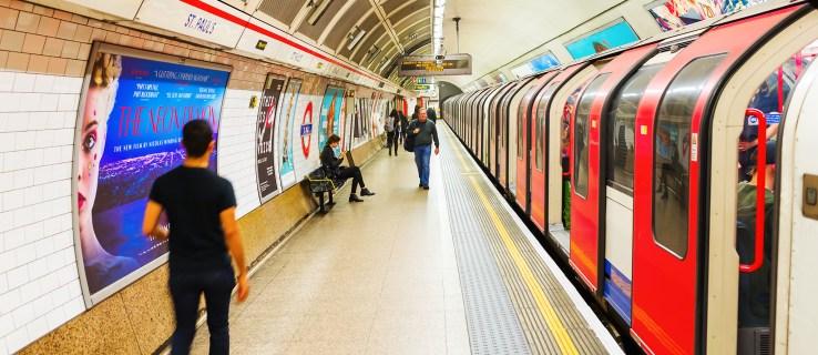Así es como se verá el nuevo mapa del metro de Londres cuando se abra Elizabeth Line