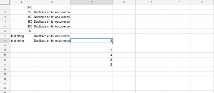 How To Count Duplicates in Google Sheets