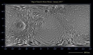 Saturn's moon Mimas