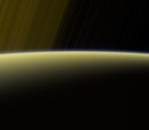 Saturn horizon