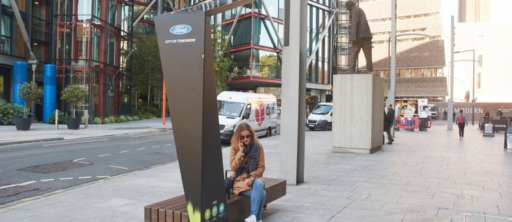 Ford's new Smart Benches are an oasis of tech – and they're coming to London