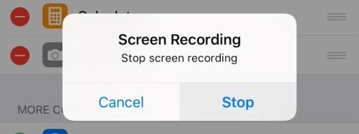 Screen Record iOS 11