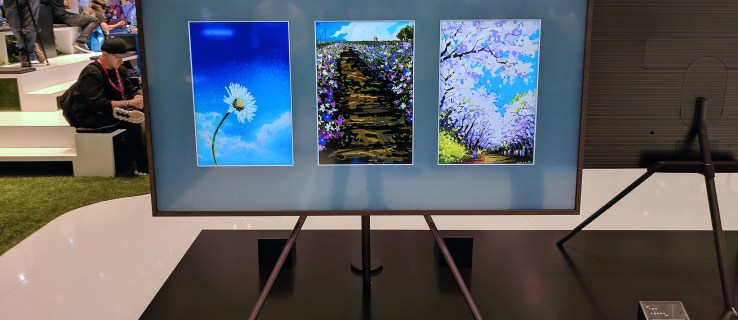 Samsung Frame wants to blend its TV into your home through the power of art