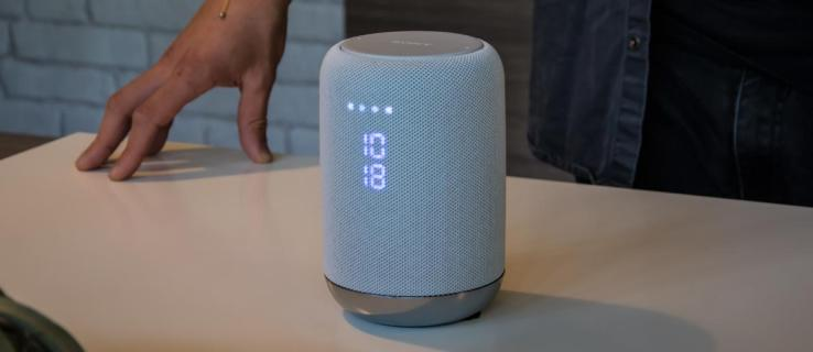 Sony LF-S50G review: This smart speaker has Google Home firmly in its sights