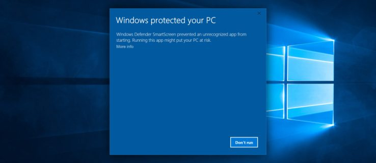 Windows Defender SmartScreen: How to Deal With 'Windows Protected Your PC' Warnings