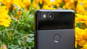 Google Pixel 2 camera and fingerprint reader