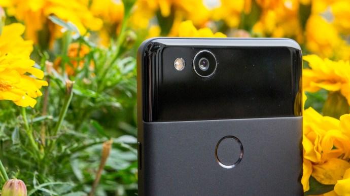 Google Pixel 2 camera and fingerprint reader