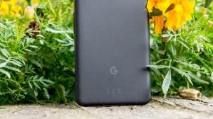 Google Pixel 2 Google logo