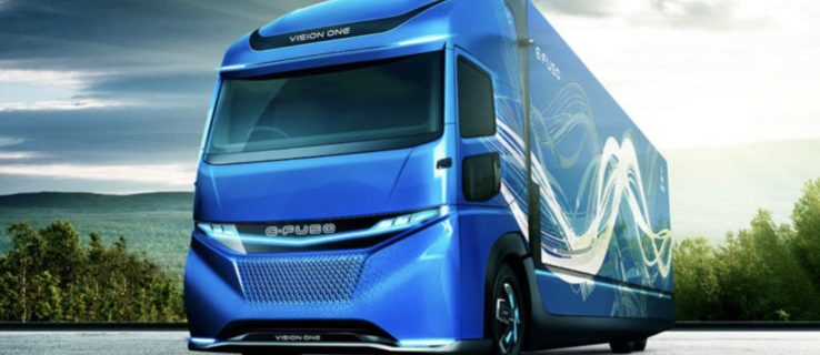 Daimler unveils E-FUSO electric lorry at the Tokyo Motor Show